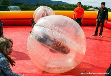 Zorb Balling at Keswick Mountain Festival