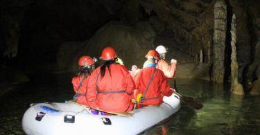 Exploring Krzna Jama Cave Slovenia
