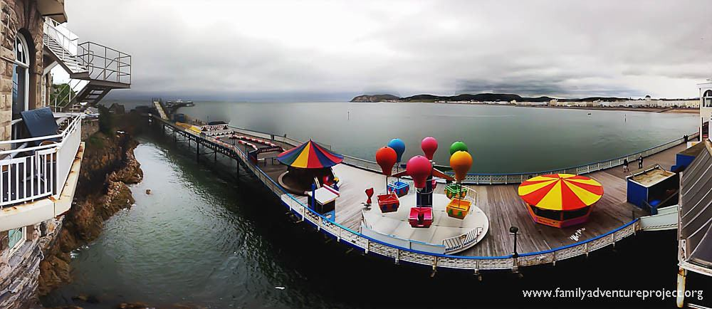 Lllandudno Pier from Grand Hotel