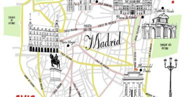 Madrid Avis Map