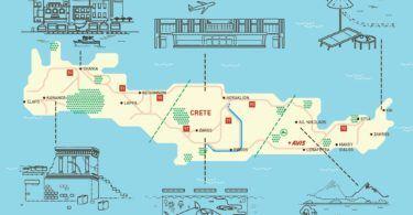 Crete Map Avis Asset
