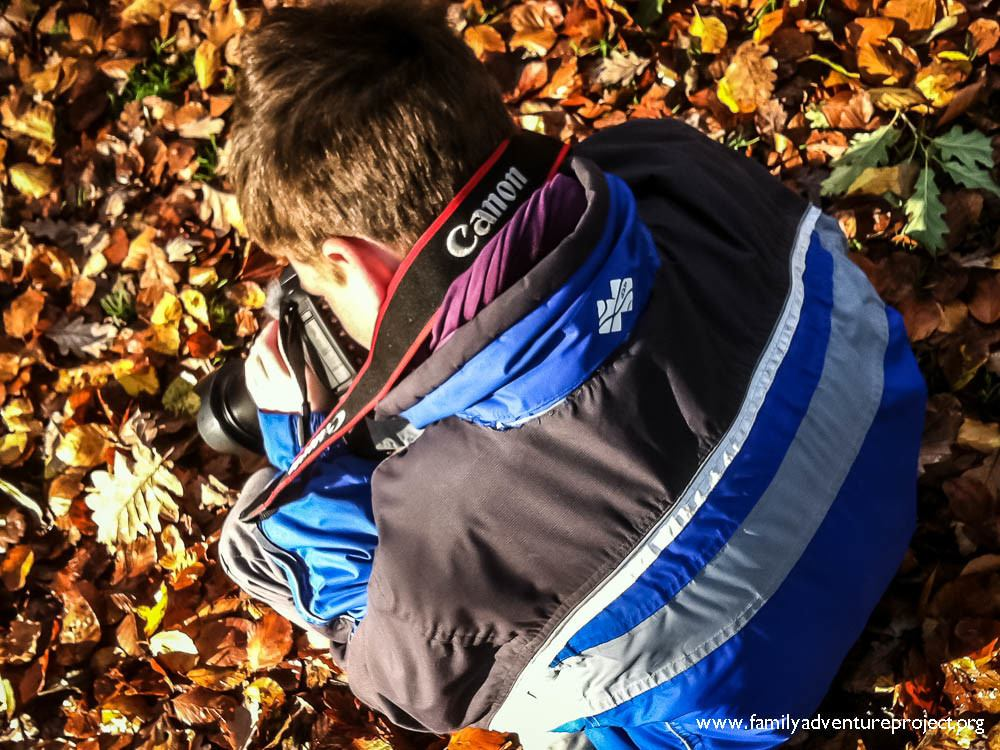Photographing Autumn