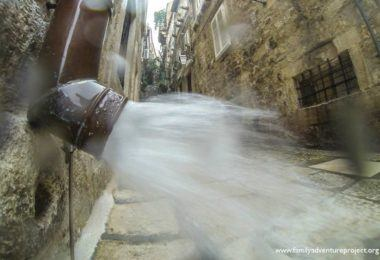 Dubrovnik Old Town in Storm