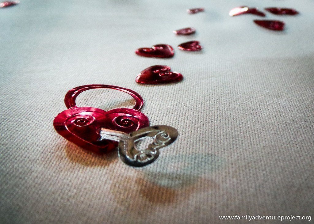 Key to a Heart on a Table