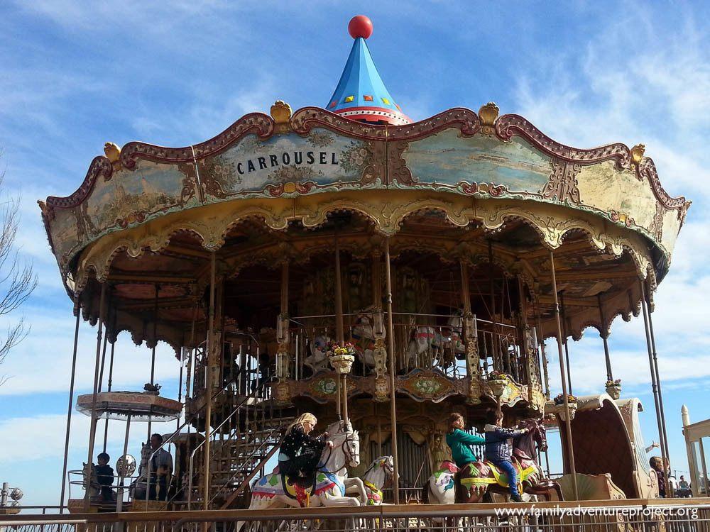 Carousel Tibidabo Amusement Park Barcelona