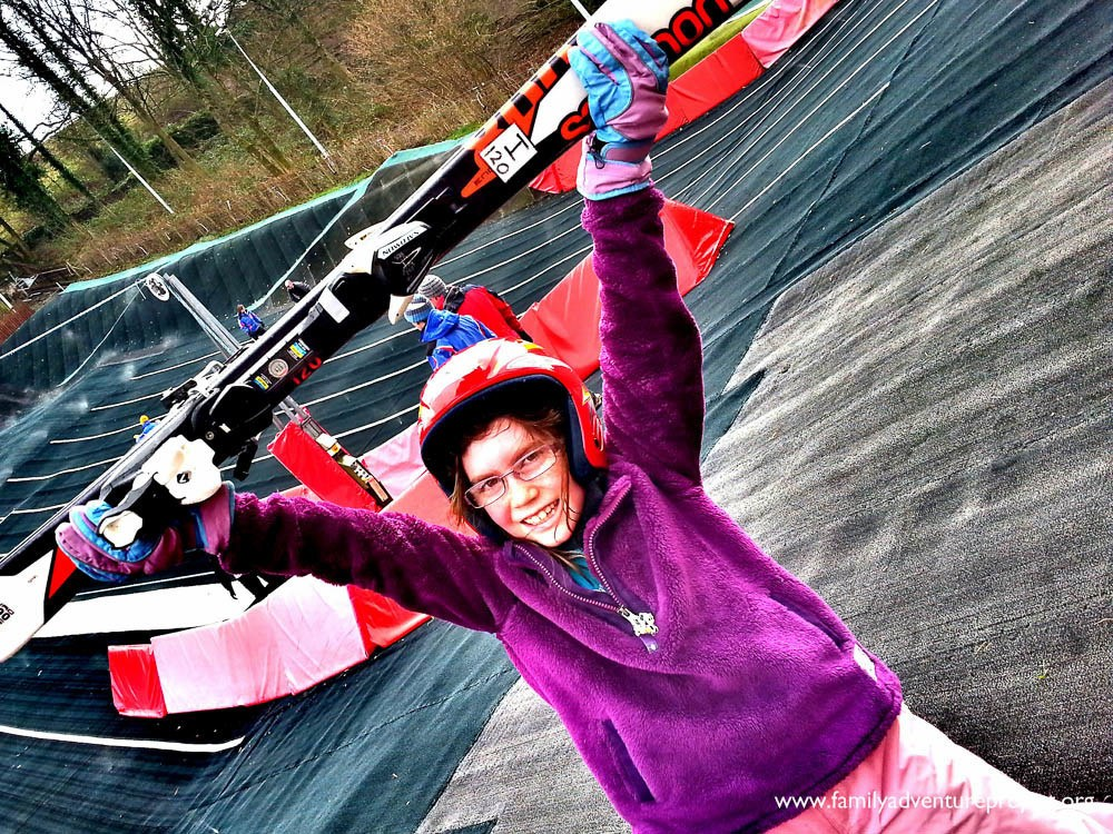 Dry Slope Skiing at Kendal