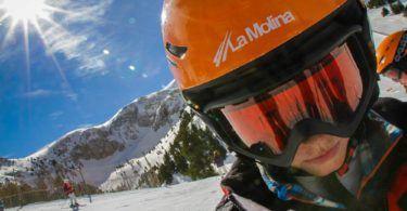 Skiing at La Molina Pyrenees