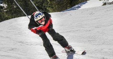 Skiing at Vall de Nuria