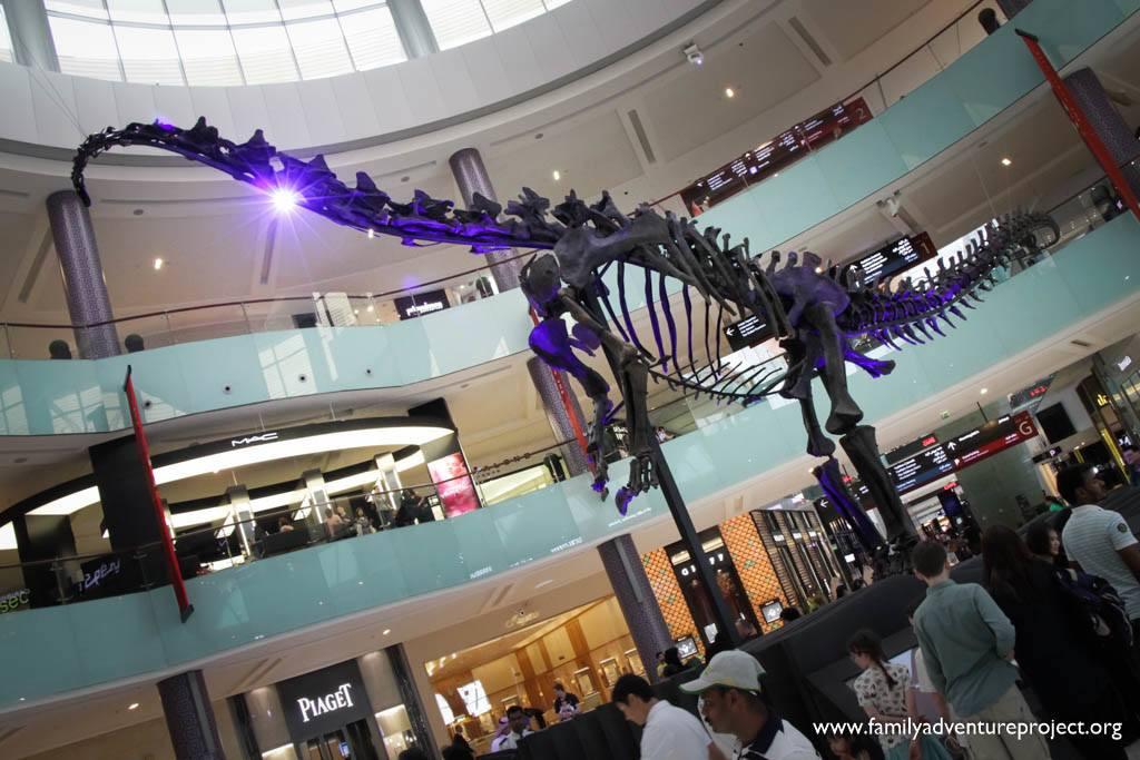 Dinosaur in Dubai Mall Dubai