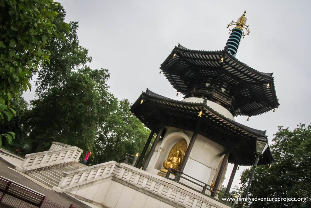 Japanese Peace Pagoda in Battersea Park