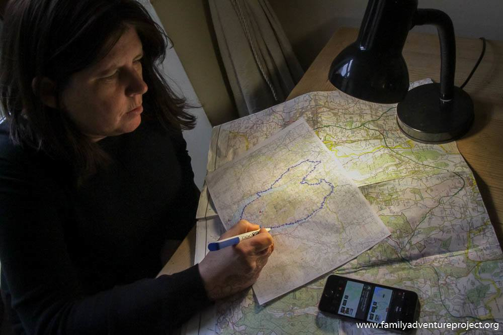 Kirstie Pelling plans out her heart shaped route for Heart of Th