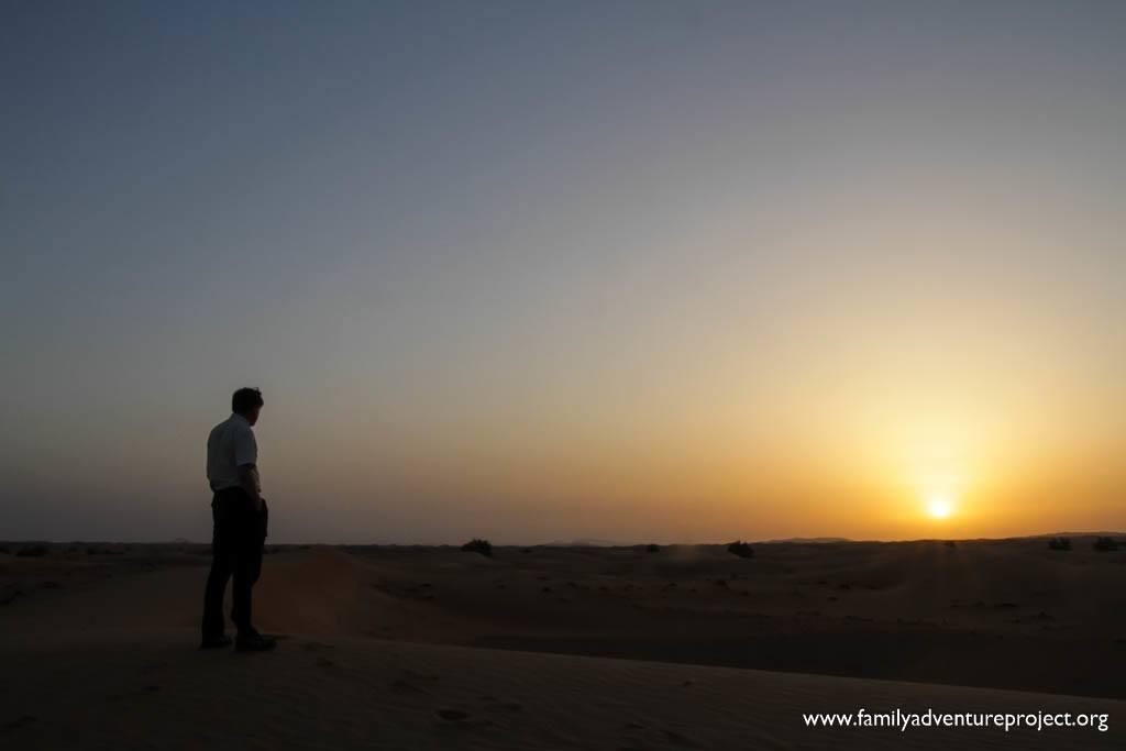 Catch the Sunrise in Dubai Desert