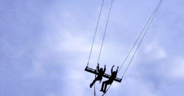 SkyRide Europe's Biggest Swing Treetop Trek North Wales