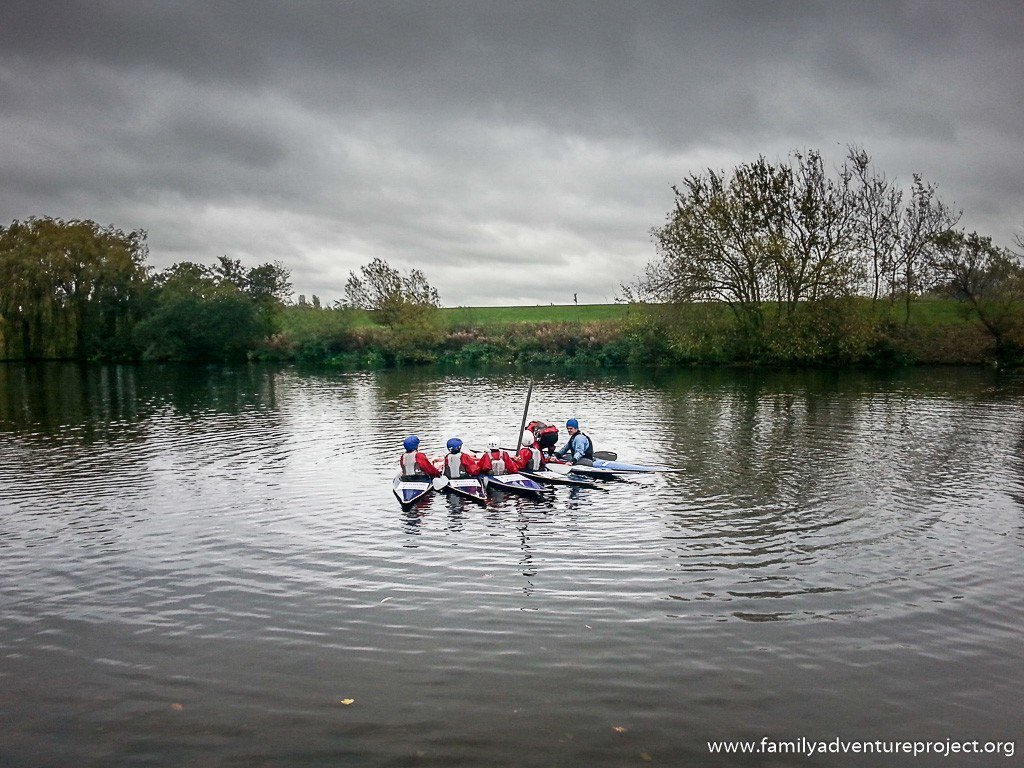 Home of Sport: Kayak coaching at Holme Pierrepont National Watersports Centre Nottingham