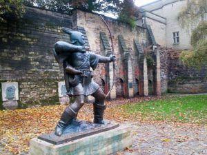 Archer Statue in Nottingham