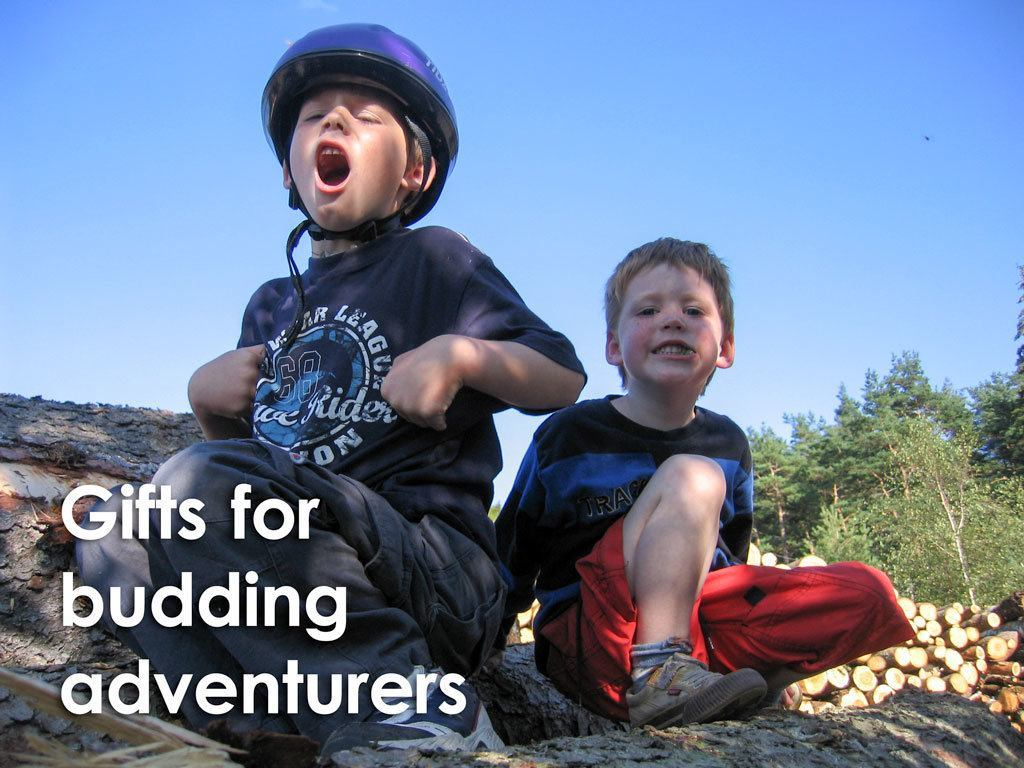 Adventure Gifts for Budding Adventurers