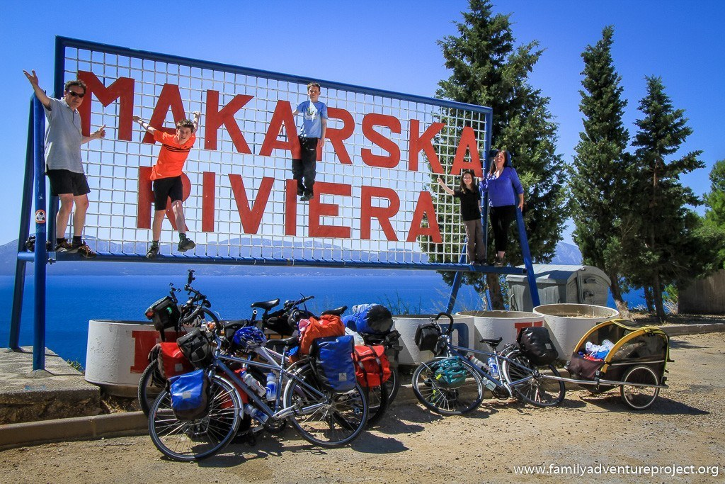 Cycling Makarska Riviera Croatia