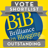 Brilliance in Blogging 2015 Outstanding Shortlist