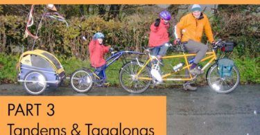 Choosing Bikes for Cycling with Kids Part 3 Tandems and TagAlongs