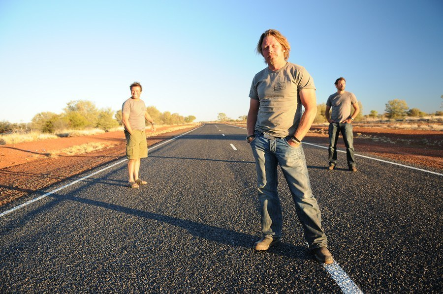 Charley Boorman in By Any Means. Image: www.charleyboorman.com