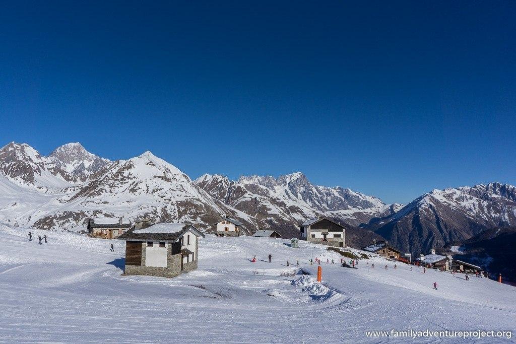 Shepherds Huts at La Thuile Ski Resort, Italy