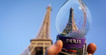 Eiffel Tower and Snowglobe