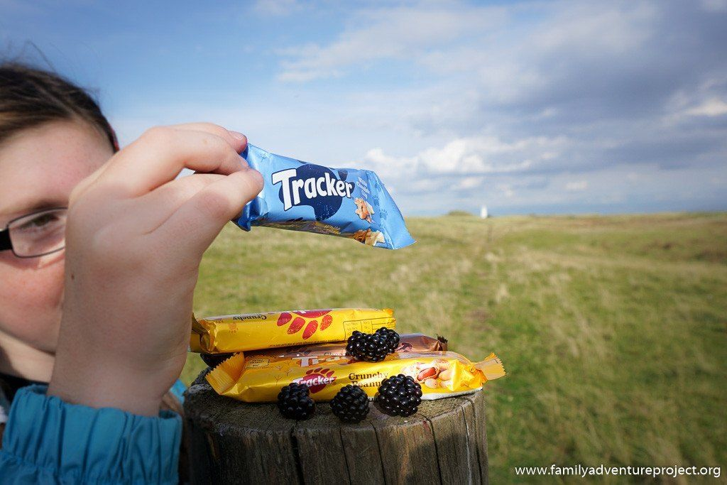 Time for a snack on Walney Island