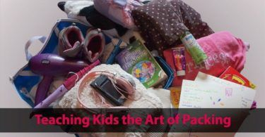 Teaching Kids the Art of Packing