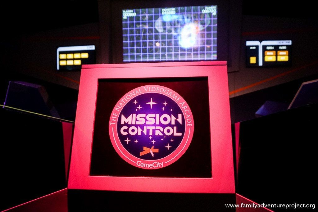 Mission Control at Game City National Videogame Arcade