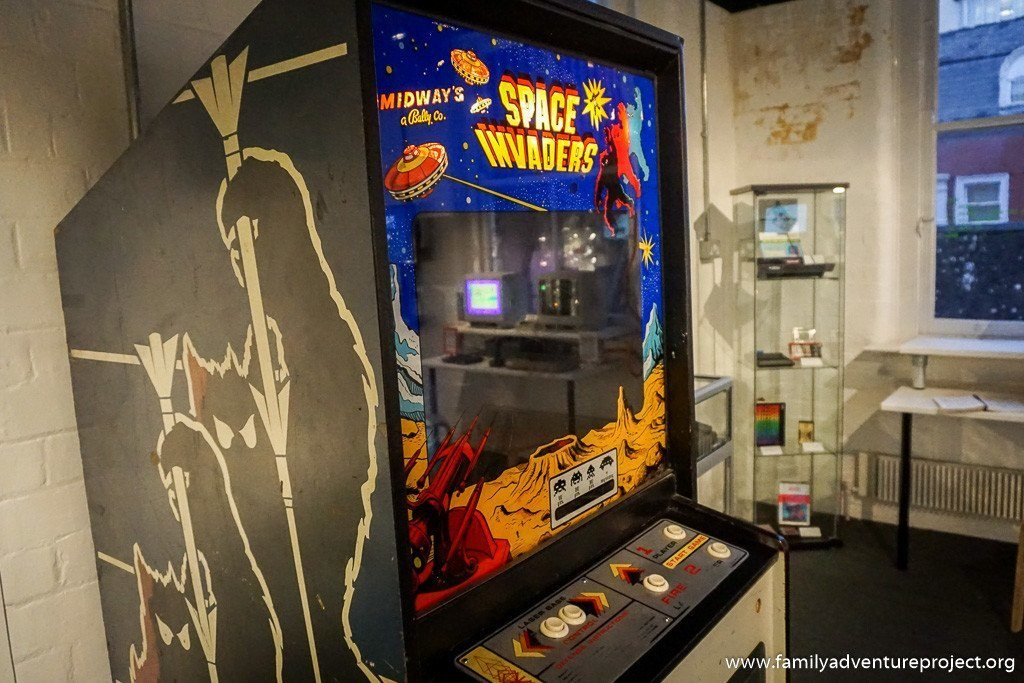 Space Invaders and the History of Games in 100 Objects at National Videogame Arcade