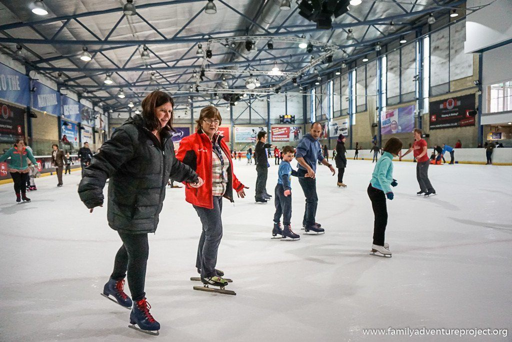 Nottingham Sport: Learning to Skate at National Ice Centre