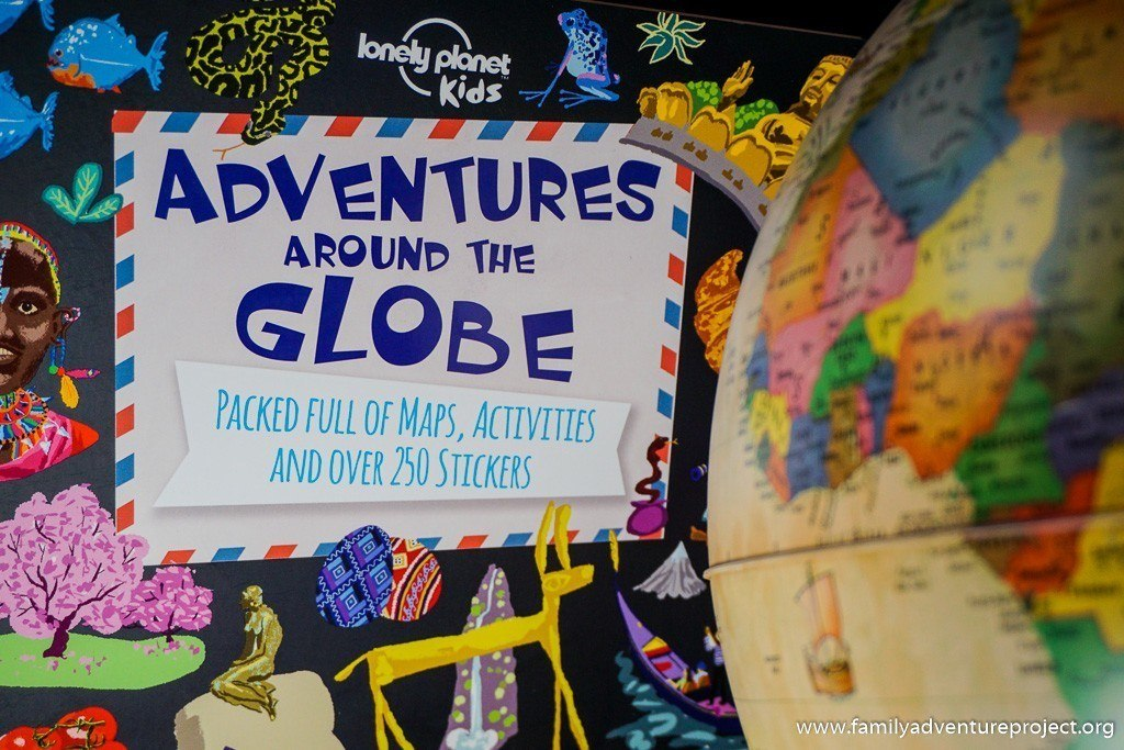 Lonely Planet Kids Adventures Around the Globe Book