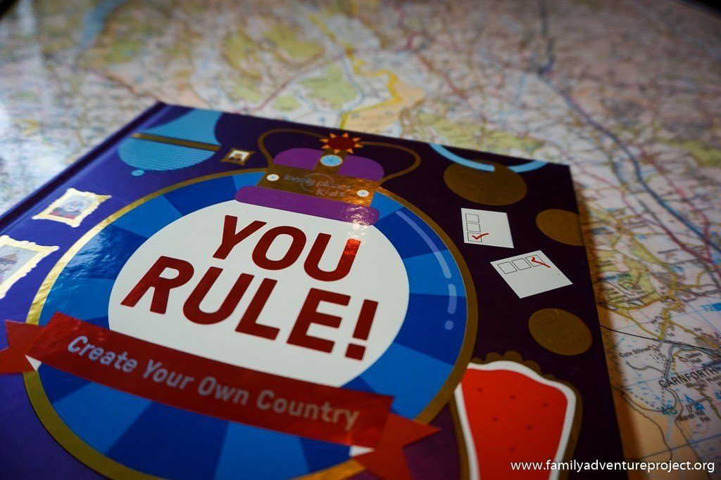 Lonely Planet Kids Adventures You Rule Book
