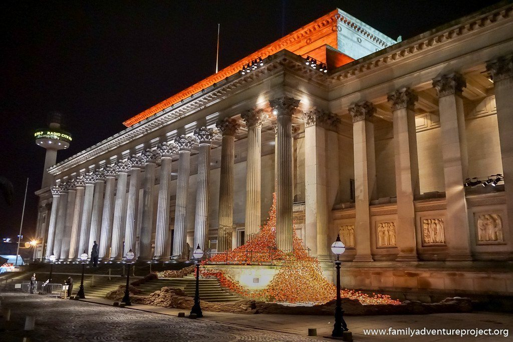 Weeping Window, Liverpool at Night