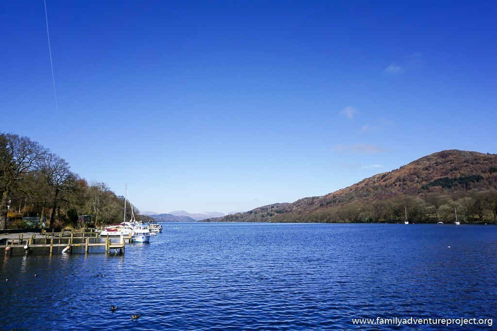 Looking up Windermere from Lakeside