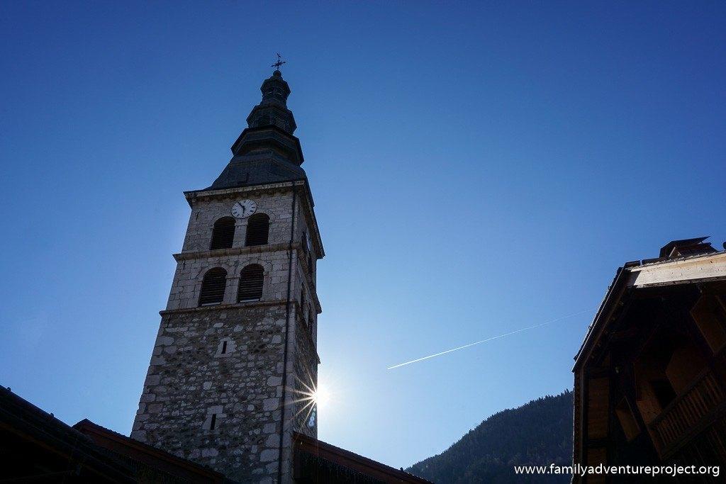 Eglise Sainte Foy in La Clusaz, Haute Savoie, France