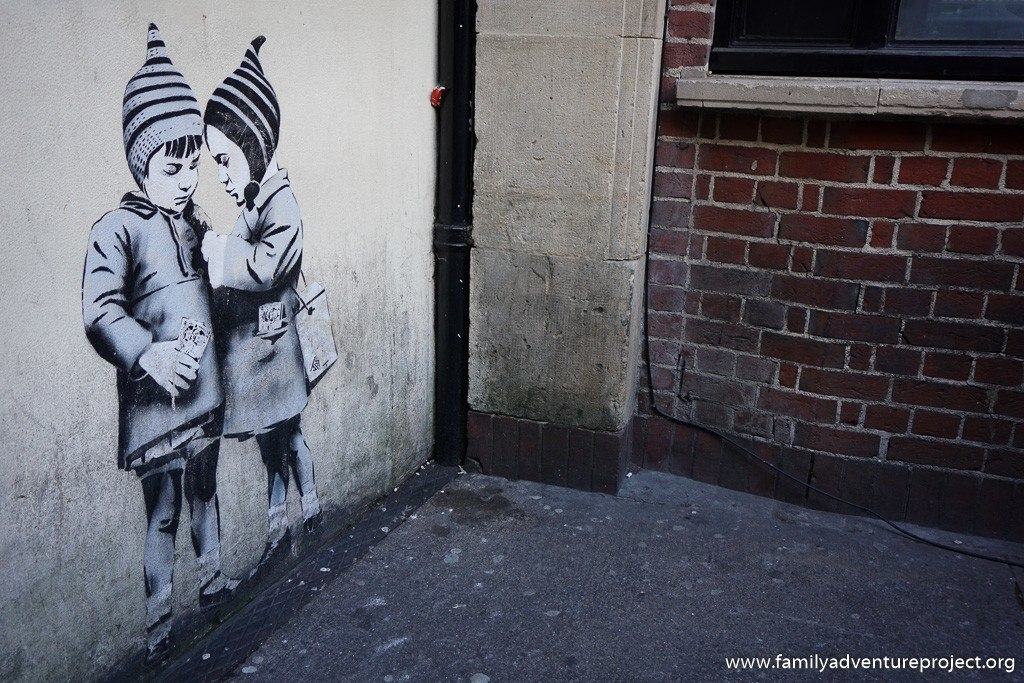 Street Art in Frogmore Street Bristol - by JPS of Weston-super Mare