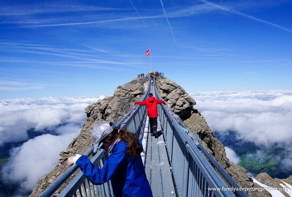 Tissot Peak to Peak Walk on Glacier 3000 at Les Diablerets