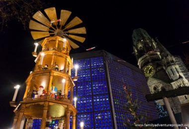 Christmas Pyramid at Kaiser Wilhelm Memorial Church and Christmas Market, Berlin