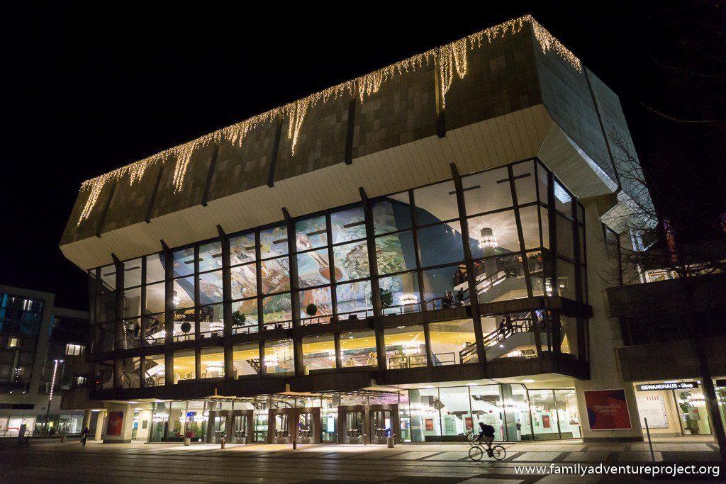 Gewandhaus concert hall on Augustusplatz, Leipzig