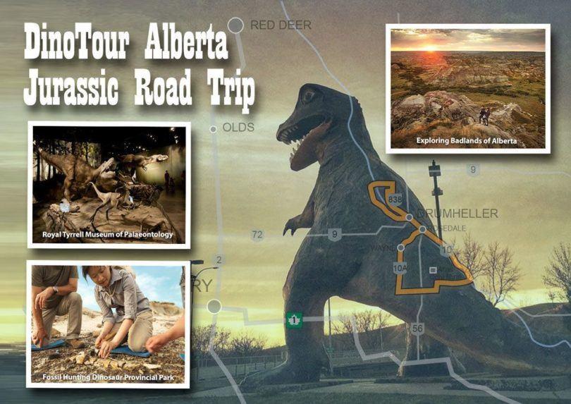 Road Trip Alberta DinoTour