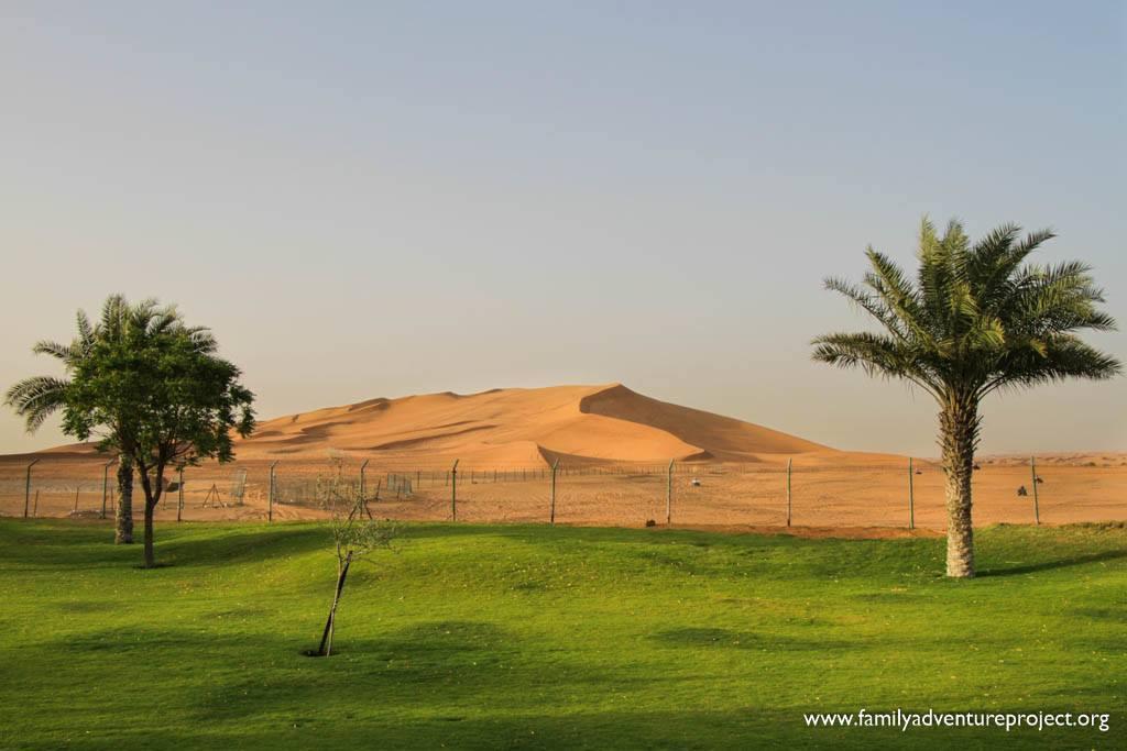 Sand Dunes on Dubai Hatta Road