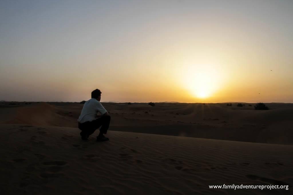 Catch the Sunrise in Dubai Desert on a Dubai Desert Trip