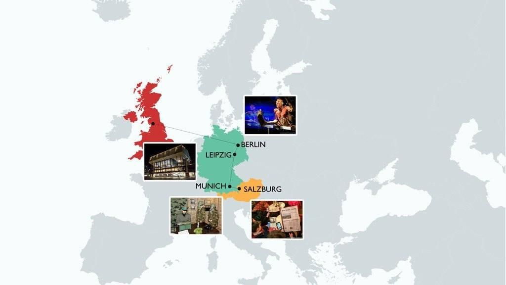 Across Europe with Teens
