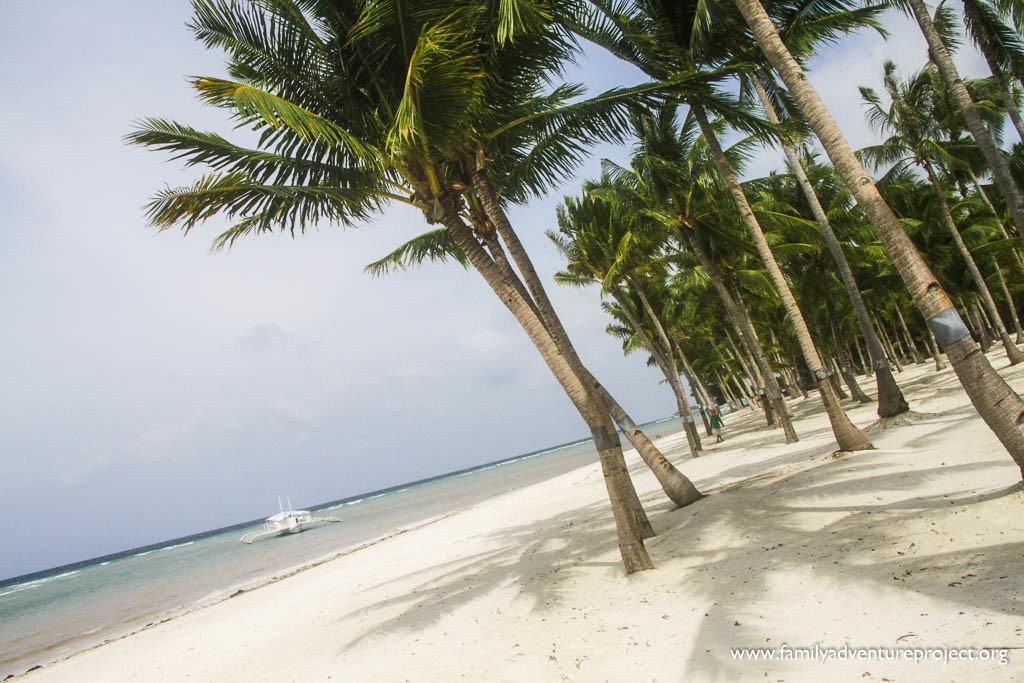 Morning on the Beach at South Palms Resort, Bohol, Philippines