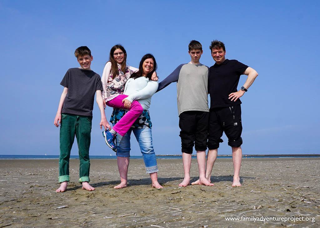 Family Adventure Project Team at IJmuiden 2016