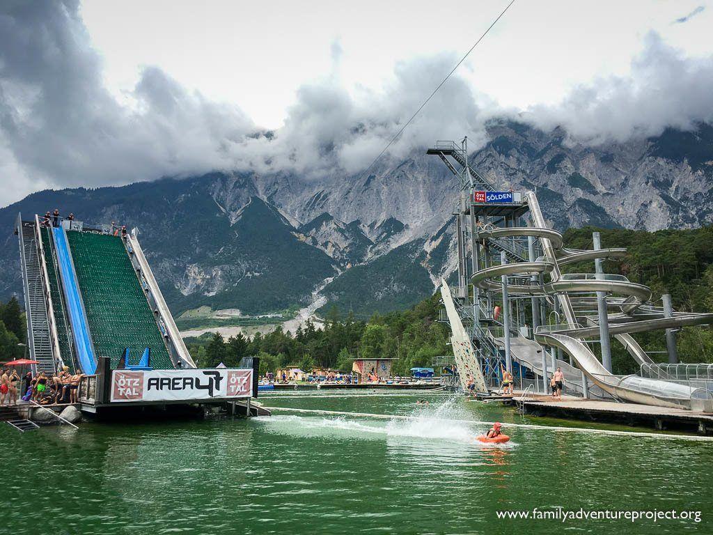Area 47 Waterpark, Otztal, Tirol, Austria