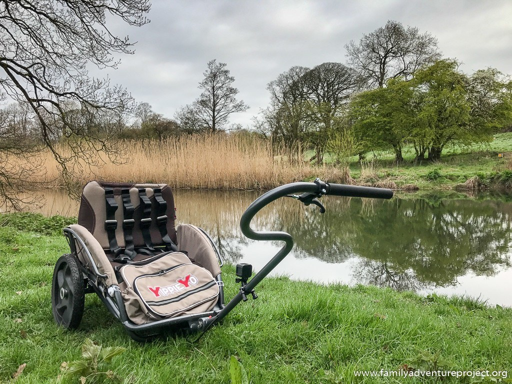 Yippie Yo Crossbuggy out on location in Cumbria