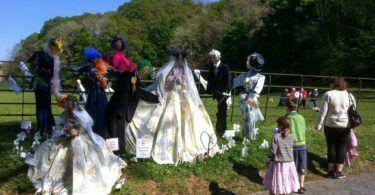 Wray Scarecrow Festival Royal Wedding