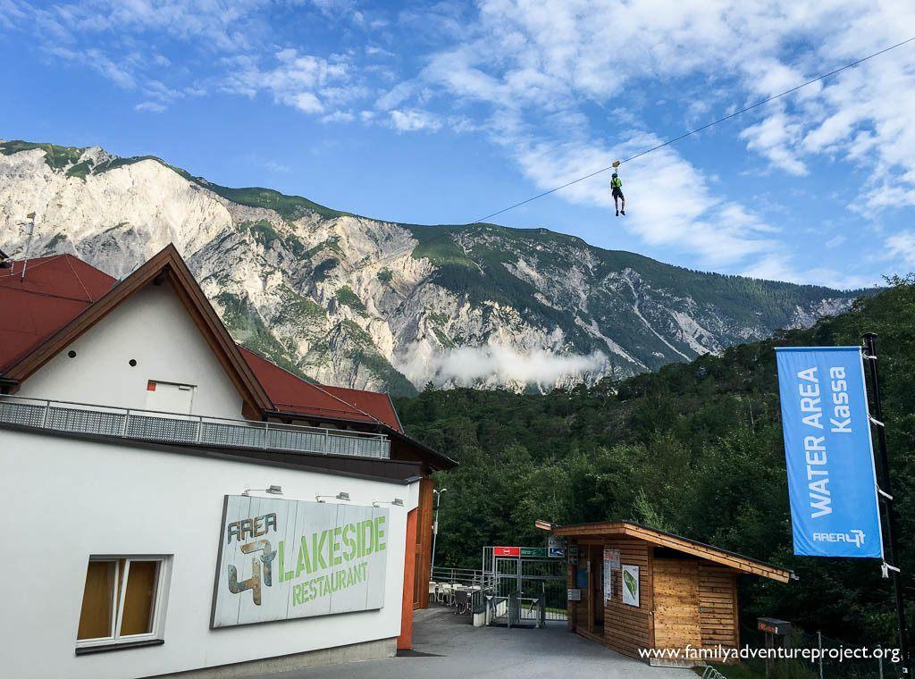 Why not zip in to Area 47, Adventure Park Austria in Tirol